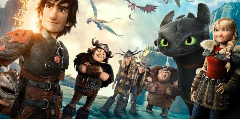 Герои с драконом